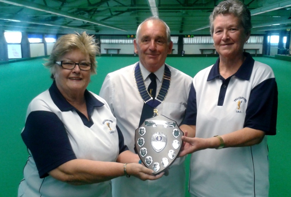 CLUB COMPETITION 2015-16         Ladies Pairs