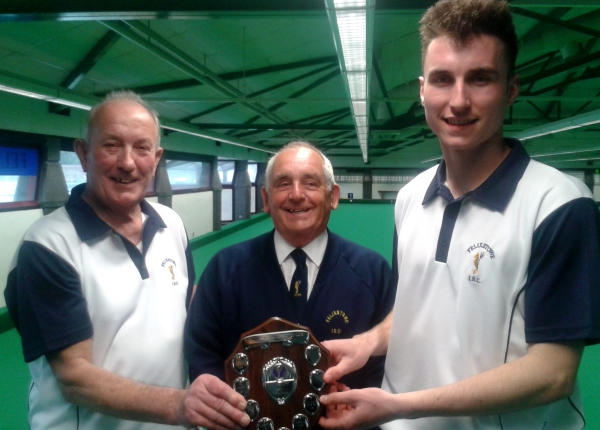CLUB COMPETITION 2015 - 16                         Men's Pairs