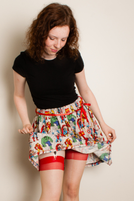 MARVEL AVENGERS BASIC SKIRT