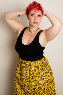 THE YELLOW WALLPAPER BASIC SKIRT