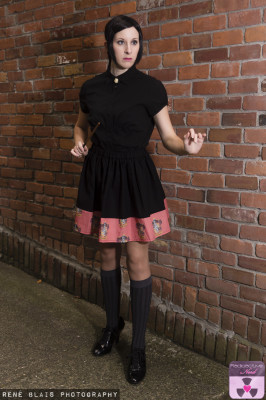 GRYFFINDOR BOARDER SKIRT