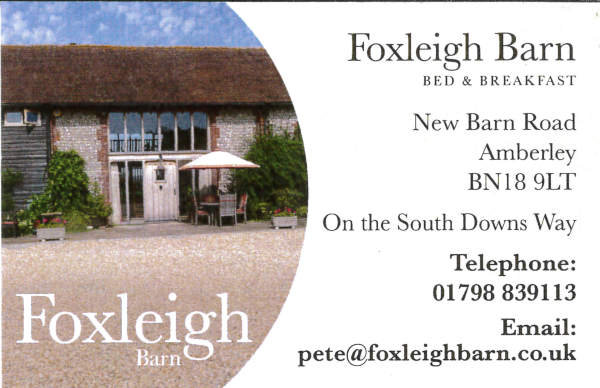 Foxleigh Barn Amberley