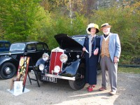 Amberley Museum - Vintage car show