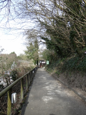 Amberley Museum - Entrance path