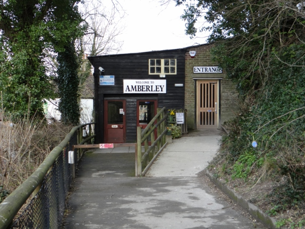 Amberley Museum - Museum entrance