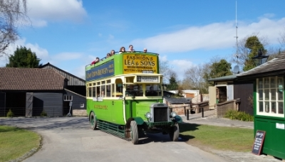 Amberley Museum - Let's explore the buses