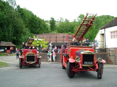 Amberley Museum Let's explore the fire engines