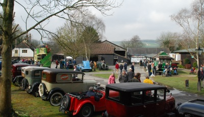 Fooling Around and Vintage Car Show at Amberley Museum