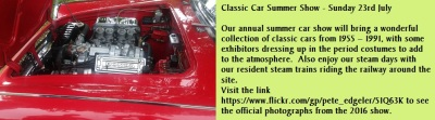 Annual Classic Car Summer Show - Sunday 23rd July
