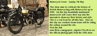 Motorcycle Event - Sunday 7th May
