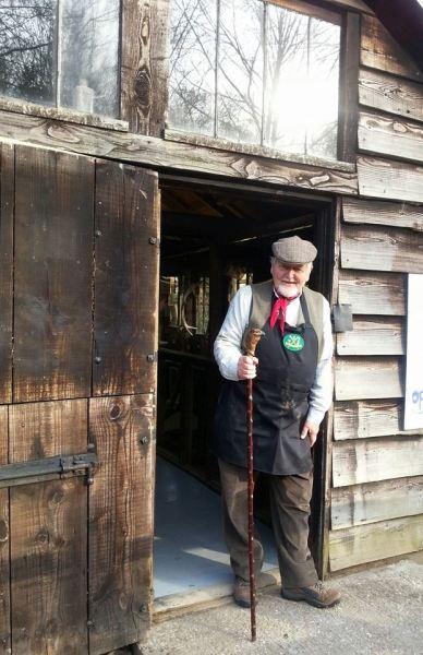 Amberley Museum Walking stick maker