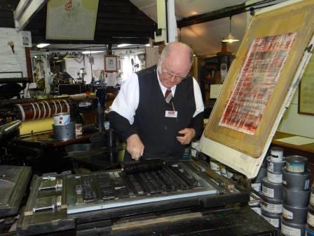 Amberley Museum Printshop