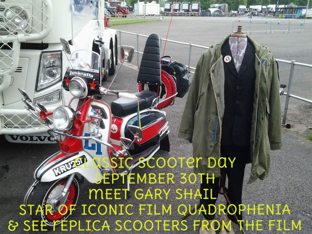 Classic Scooter Day - Saturday 30th September
