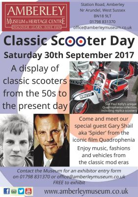 Saturday 30th September - Classic Scooter Day