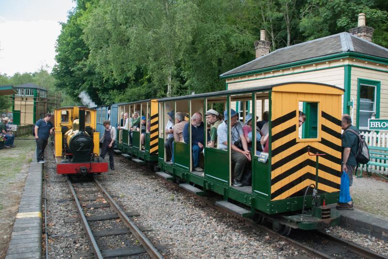 Amberley Museum's Rail Gala Success