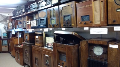 Amberley Museum TV and Radio Exhibit
