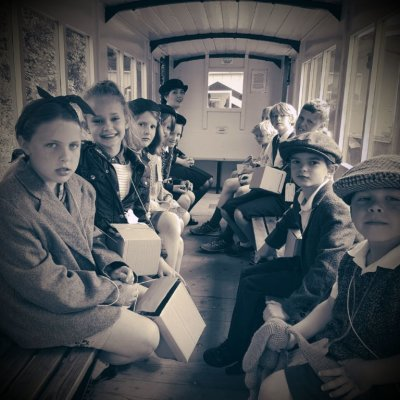 Amberley Museum Evacuee Train