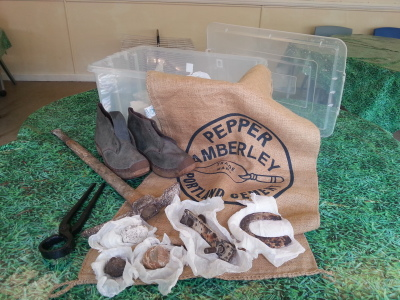 Amberley Museum Loan boxes