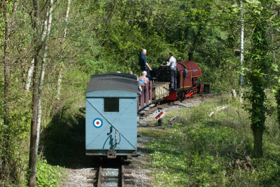 Amberley Museum - Spring industrial trains
