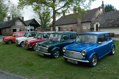 Amberley Museum - Minis at the Quarry