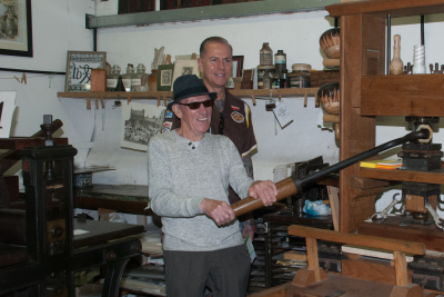 Amberley Museum - Dads can do