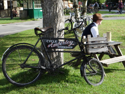 Amberley Museum - Historic cycles day