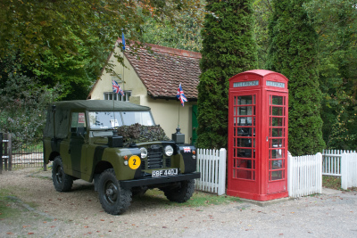 Amberley Museum - Classic land rover day