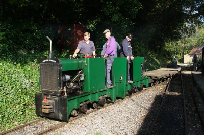 Amberley Museum - Autumn industrial trains