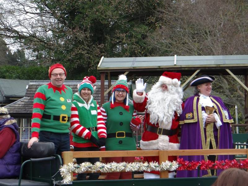The Grand Arrival of Father Christmas