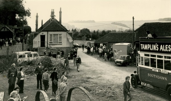 Amberley Museum - Opening day 1978