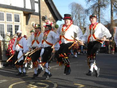 Morris Dancing Celebrations at Amberley Museum