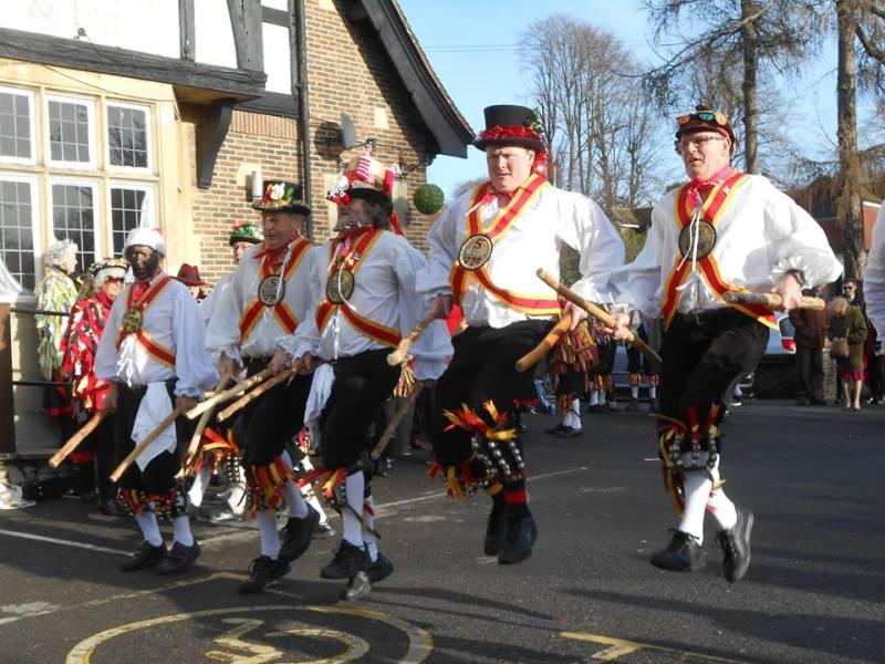 Morris Dancing Celebrations at Amberley Museum