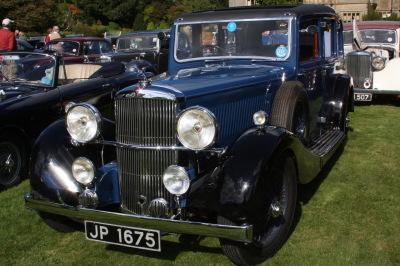 Alvis Car Club Visit