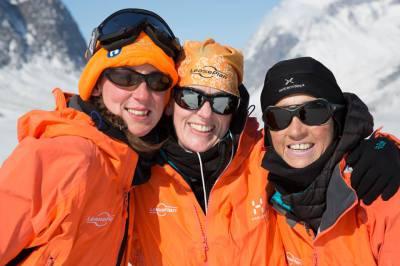 Patient Viv Bowra Completes Arctic Challenge