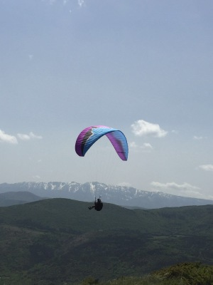 Back from paragliding in Abruzzo Italy