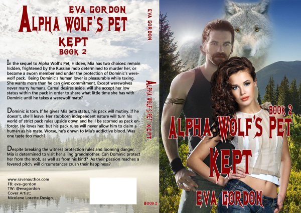 Alpha Wolf pet - Kept - book 2 - Eva Gordon