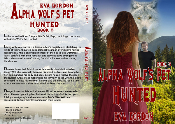 Alpha Wolf pet - hunted - book 3 - Eva Gordon
