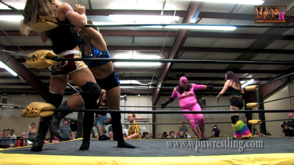 The PWA Women's Battle Royal