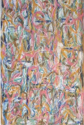 Alphabet 2,  180 x 122cm, Oil on Canvas, $6.600