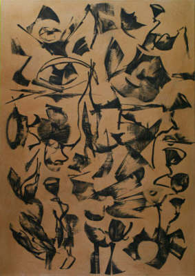 Lotus Dreaming 6, 180 x 120cm, Ink on Board, $3.300