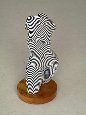 Roxie, White and Blue, Laser cut laminated acrylic, Open Edition, H 45cm, $2.150