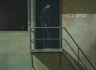 The Applicant, 2015, Acrylic on Canvas, 91 x 122cm, $6.000