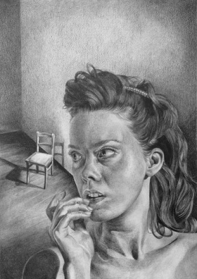 Remembering, 2015, Drawing, Pencil on paper, 29 x 42cm, $1.220
