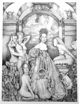 The bridal party, 2015, Print, limited edition out of 99, 48 x 60cm,  $230