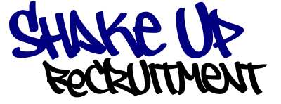 Shake Up Recruitment Logo www.shakeuprecruitment.co.uk
