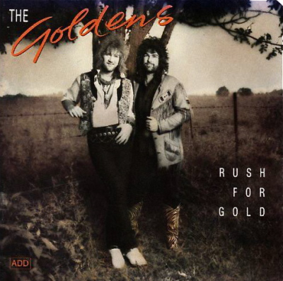 1990 / The Goldens 'Rush For Gold' CD - photo: Ron Keith