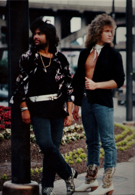 1987 / The Goldens - photo: Alan Messar