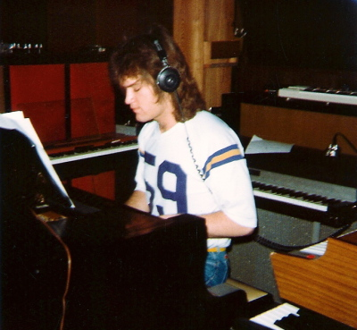 1981 - In the studio