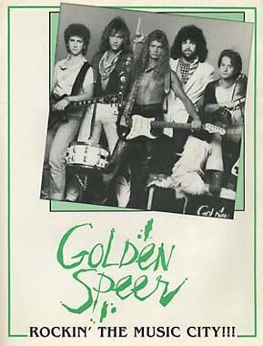 1984 / Golden Speer / The boys are gonna rock! photo: Alan Messar