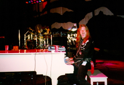 1995 - Playing Piano with the Flying Burrito Brothers